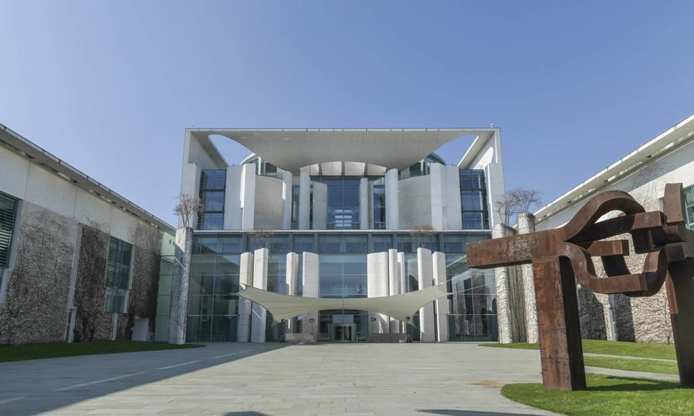 Bundesrechnungshof kritisiert exorbitant teuren Ausbau des Kanzleramts