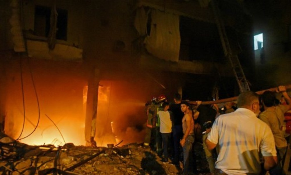 Erneute Explosion erschüttert Beirut