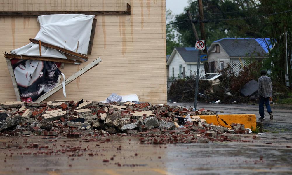 """Hurrikan """"Delta"""" fegt über US-Küste: Mehr als 600.000 Haushalte in Louisiana und Texas ohne Strom"""