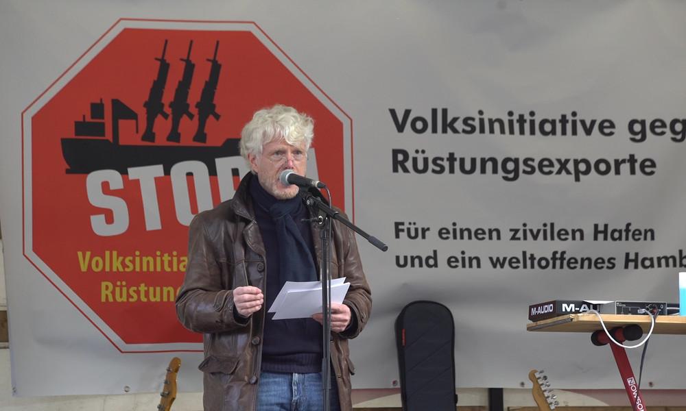 Volksinitiative will Rüstungsexporte über Hamburger Hafen stoppen (Video)