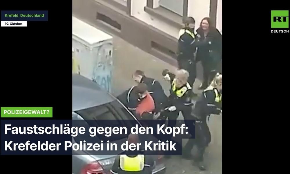 Polizeigewalt? Nach Faustschlägen ins Gesicht – Krefelder Polizei in der Kritik