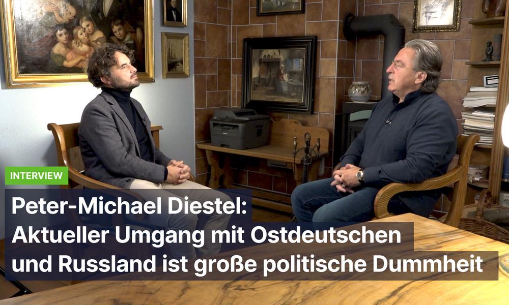 Peter-Michael Diestel: Aktueller Umgang mit Ostdeutschen und Russland ist große politische Dummheit