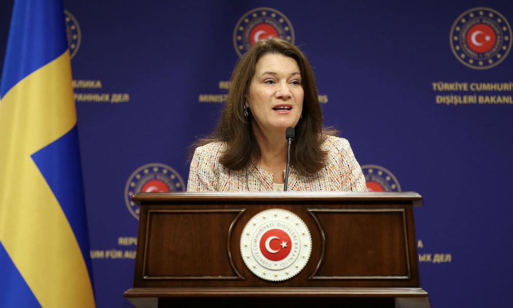 Schwedische Außenministerin Ann Linde in der Türkei: Thema Syrien führt zu Spannungen