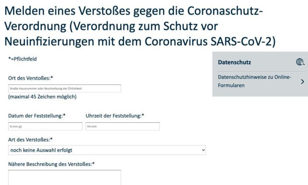 Massive Kritik am anonymen Denunziationsportal für Corona-Verstöße der Stadt Essen