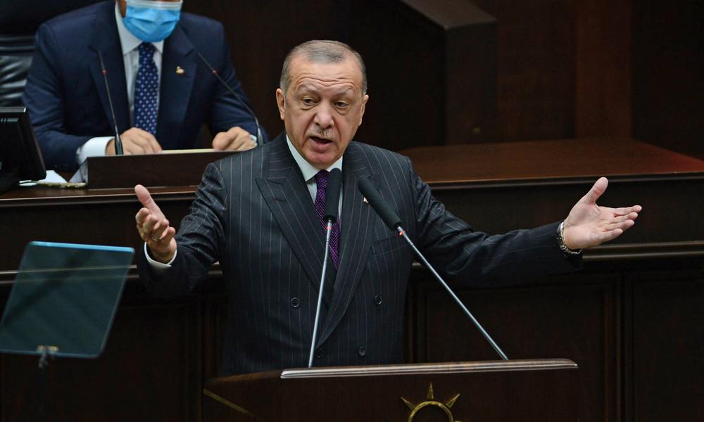 Trotz Mäßigungsappellen: Erdoğan kündigt neue Eskalation des Ostmittelmeer-Konflikts an