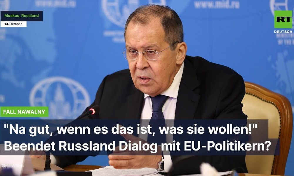 """""""EU-Dialog abbrechen""""? - Russland hat die Nase voll von westlichen Spielchen"""