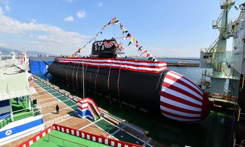 Japan enthüllt neues Hightech-U-Boot angesichts wachsender Bedrohung durch China