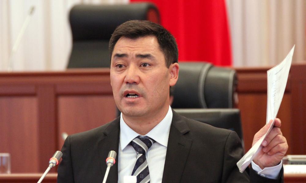 Nach Machtergreifung: Sadyr Schaparow nun offiziell der neue Regierungschef von Kirgisistan