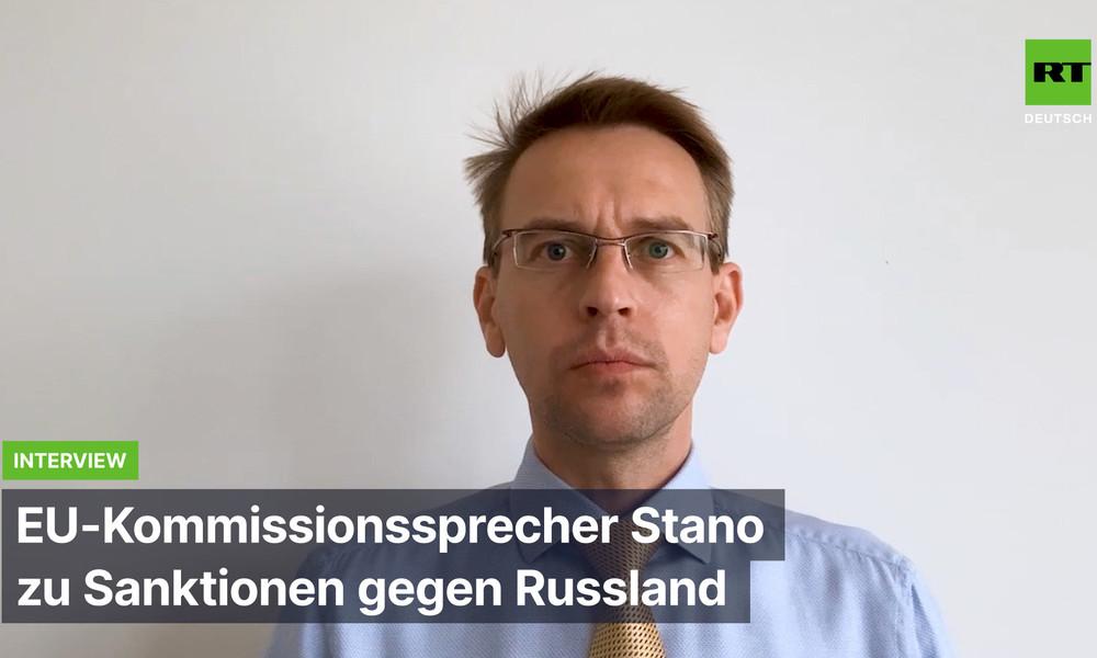 """""""Vertrauen völlig den Deutschen"""" – EU-Kommissionssprecher Stano zu Sanktionen gegen Russland"""