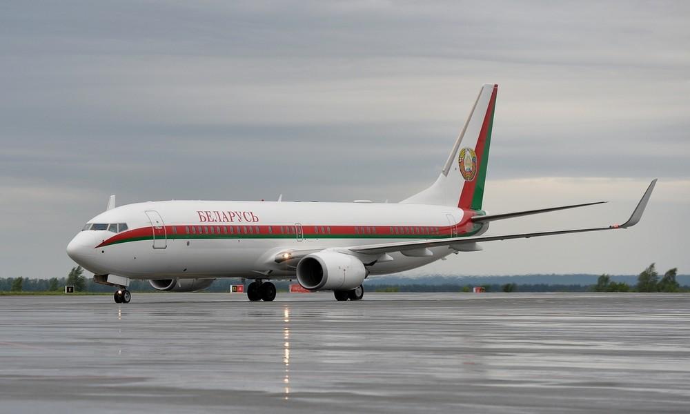 Verdi lanciert Solidaritätsaufruf wegen Wartungsarbeiten an Lukaschenkos Flugzeug in Deutschland