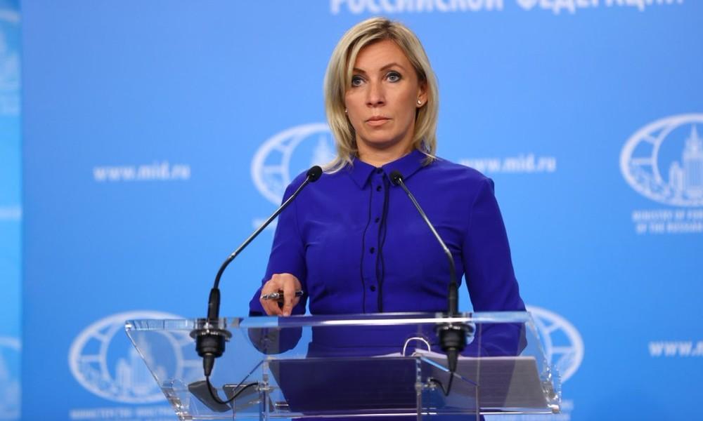 LIVE: Pressekonferenz der Sprecherin des russischen Außenministeriums
