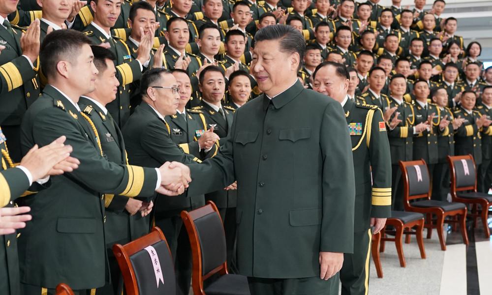 """Chinas Präsident Xi mahnt Truppen zu """"hoher Alarmstufe"""" – Parteizeitung gibt Taiwan """"letzte Warnung"""""""