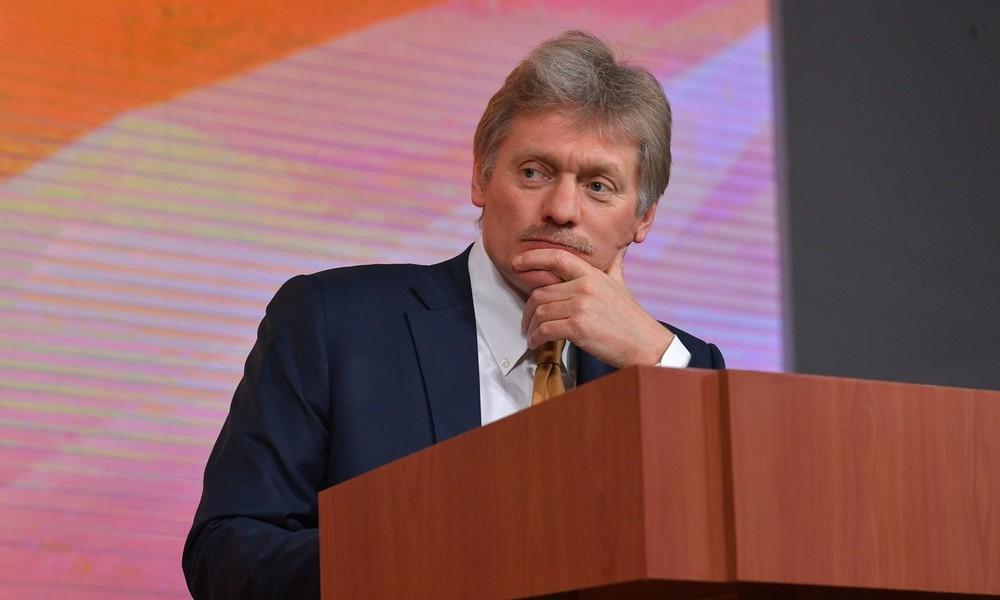 """Peskow zu EU-Sanktionen im Fall Nawalny: """"Sehe keine Logik dahinter"""""""