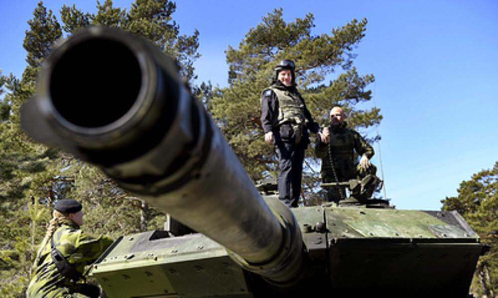"""Schwedischer Verteidigungsminister warnt vor feindlichem Angriff und """"Aggressionen Russlands"""""""