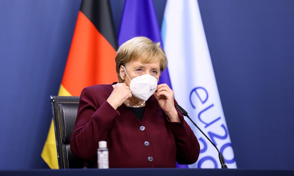 Angela Merkel schwört Bürger auf Kampf gegen COVID-19-Pandemie ein