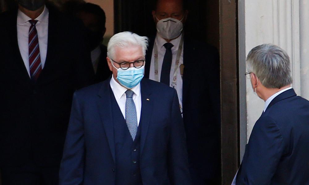 Personenschützer infiziert – Bundespräsident Steinmeier in Quarantäne