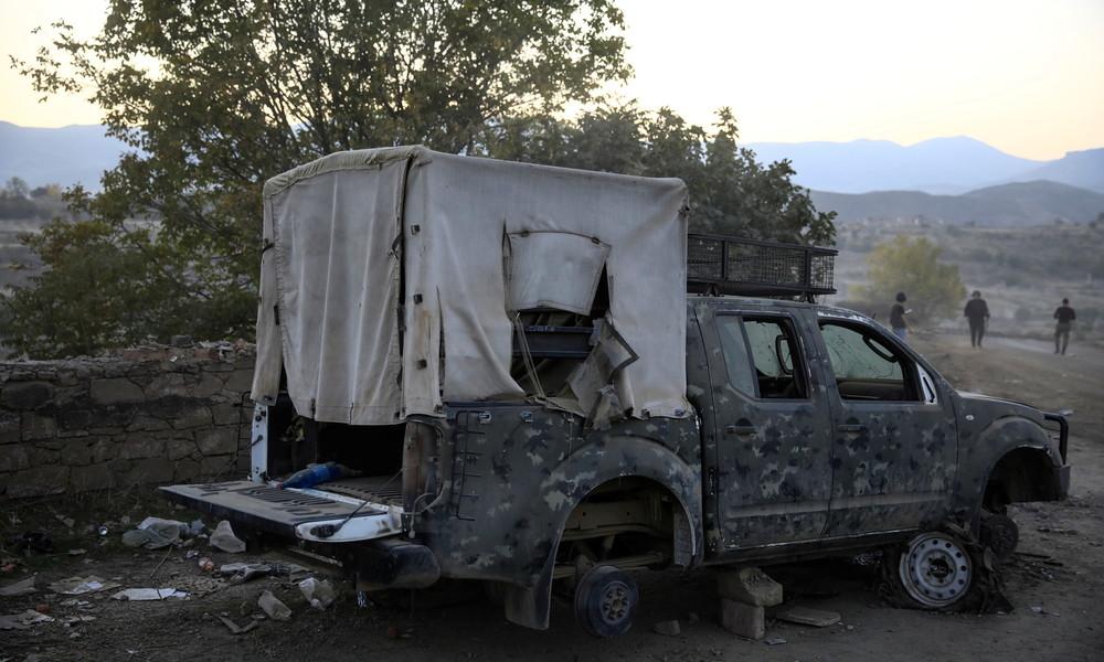 Waffenstillstand in Bergkarabach erneut gebrochen – Jerewan und Baku beschuldigen sich gegenseitig