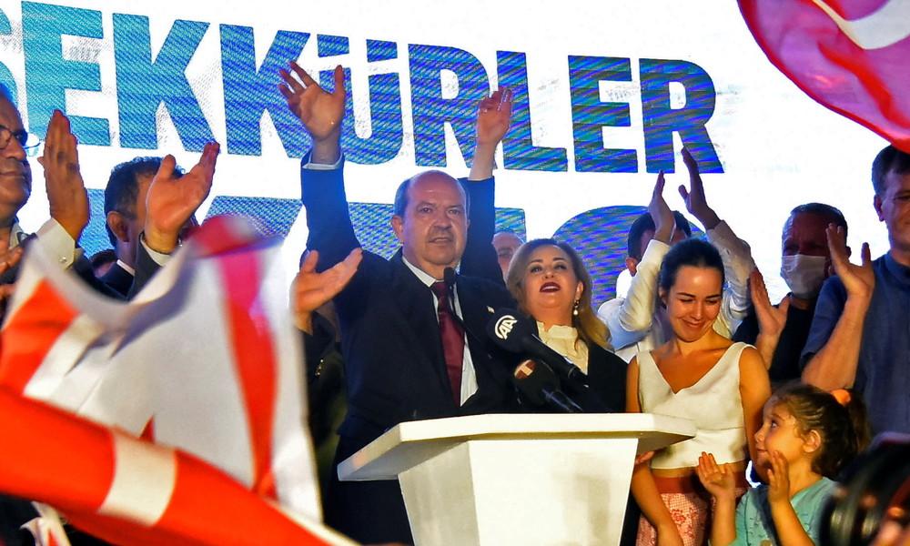 Nordzypern: Türkischer Nationalist Ersin Tatar gewinnt Präsidentschaftswahlen