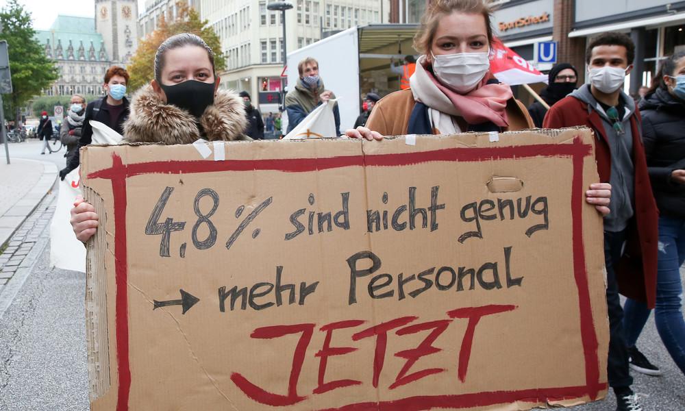 Arbeitskampf: Bund provoziert Arbeitnehmer – Arbeitgeberangebot zynisch