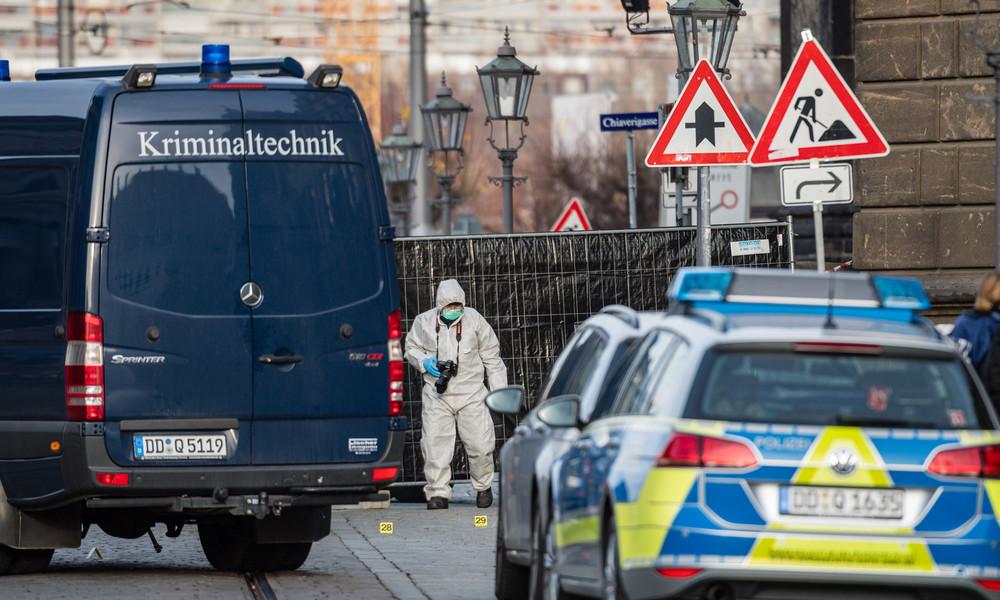 Tatverdächtiger von Dresden soll Islamist sein : Generalbundesanwalt übernimmt Ermittlungen nach Messerattacke