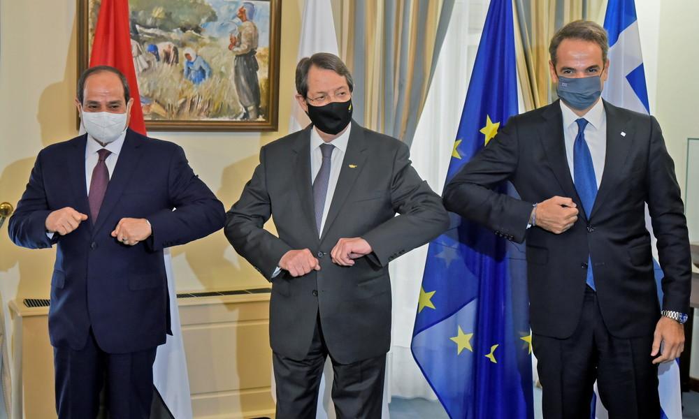 Ägypten, Griechenland und Zypern festigen ihre Kooperation im östlichen Mittelmeer