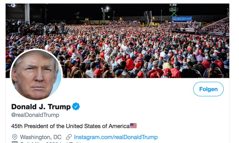 Niederländischer Hacker: Zugang zu Donald Trumps Twitter-Konto mit leicht zu erratendem Passwort