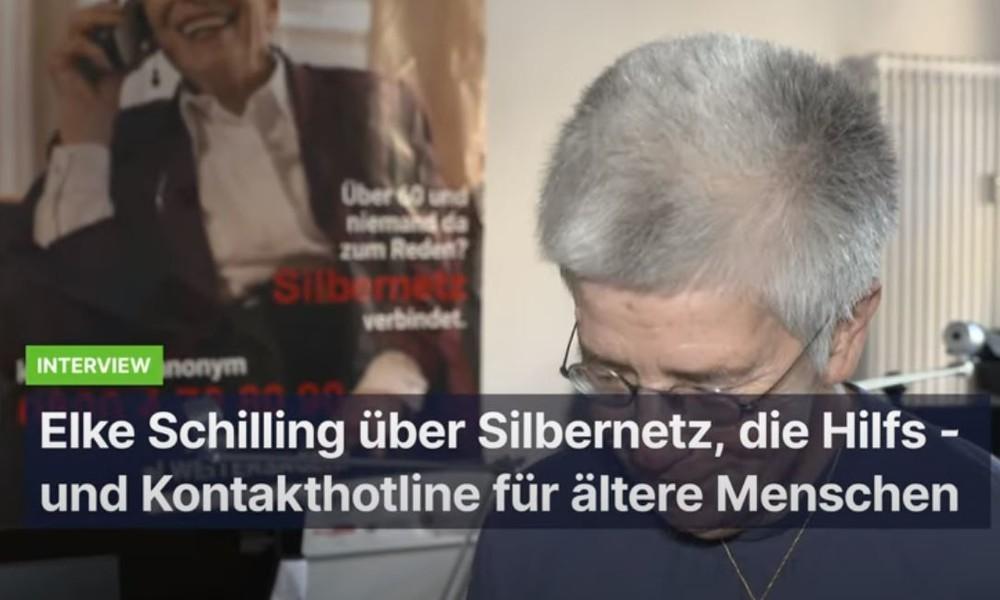 """Interview mit Elke Schilling von Silbernetz e.V. – """"Einsamkeit im Alter ist leider ein Tabuthema"""""""