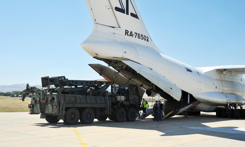 Trotz US-Kritik: Türkei testet weiter russisches Raketenabwehrsystem S-400