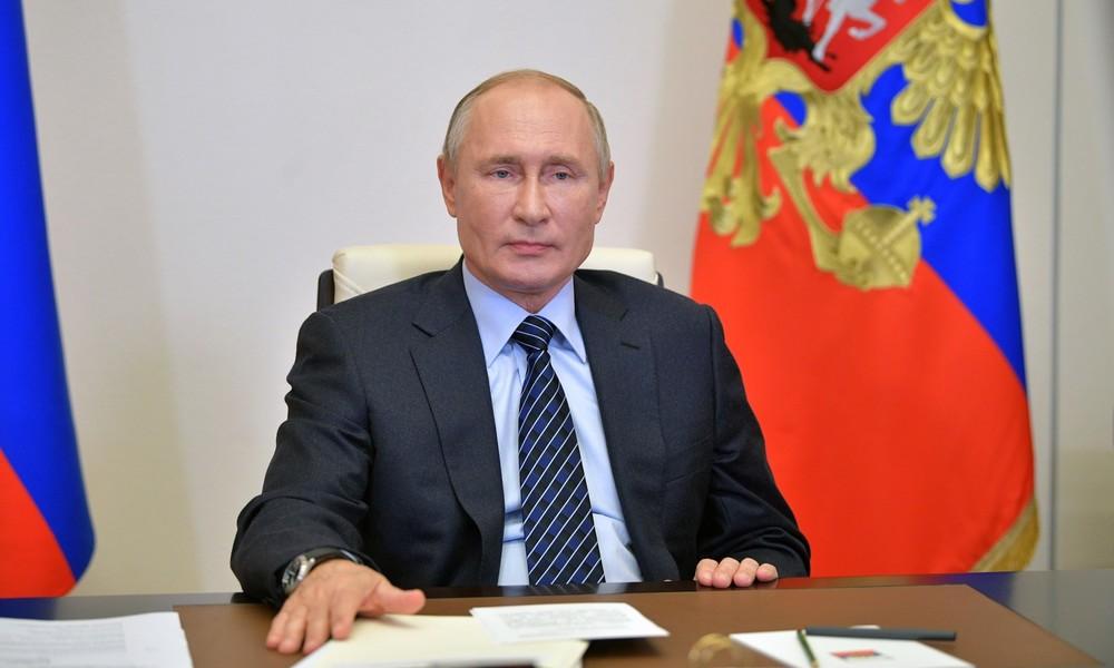 """Wladimir Putin über Anti-Terror-Kooperation mit USA: """"Im Ganzen sind wir damit zufrieden"""""""