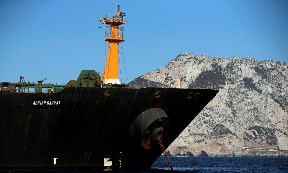 Iranische Öltanker treffen mit Eskorte der russischen Marine in Syrien ein