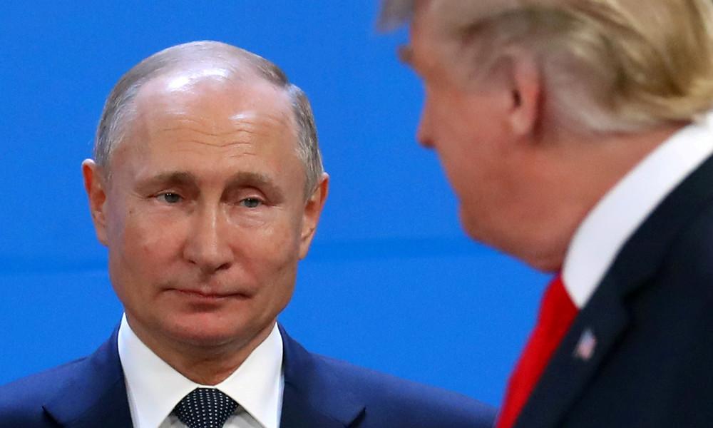 """""""Höchst verwunderlich"""": Wladimir Putin über Aussagen Donald Trumps und Joe Bidens zu Russland"""