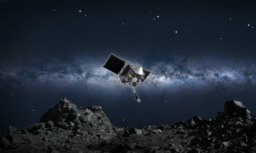 Um weitere Verluste zu vermeiden: NASA will Asteroiden-Probe schnell verstauen