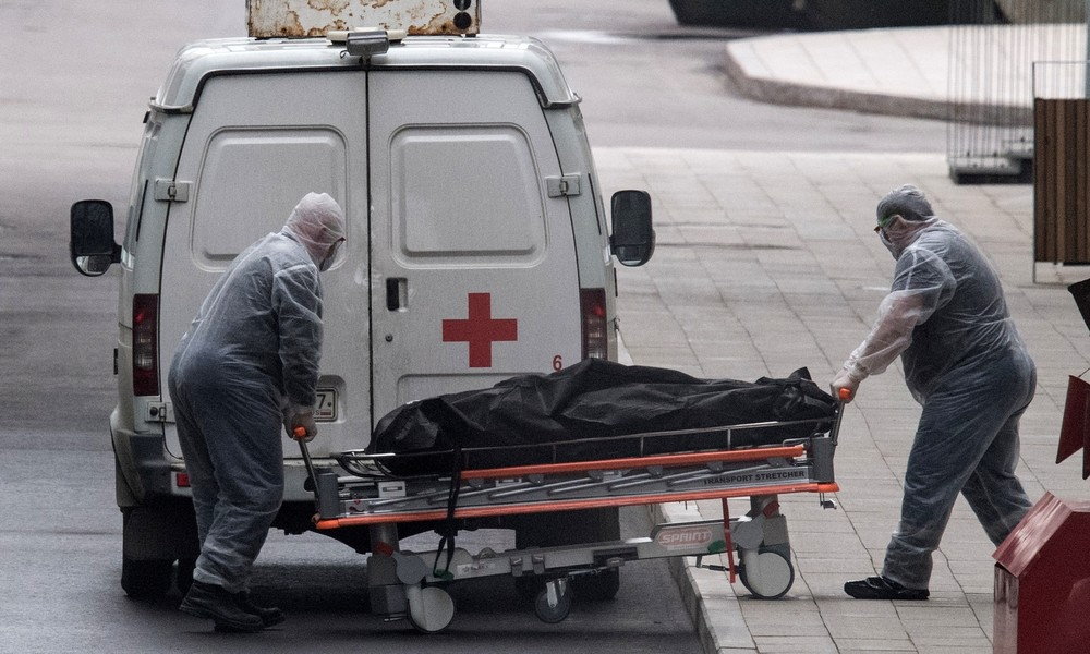 """""""Überall Leichen"""": Video aus Russland zeigt überfülltes Leichenhaus – Behörden bestätigen Problem"""