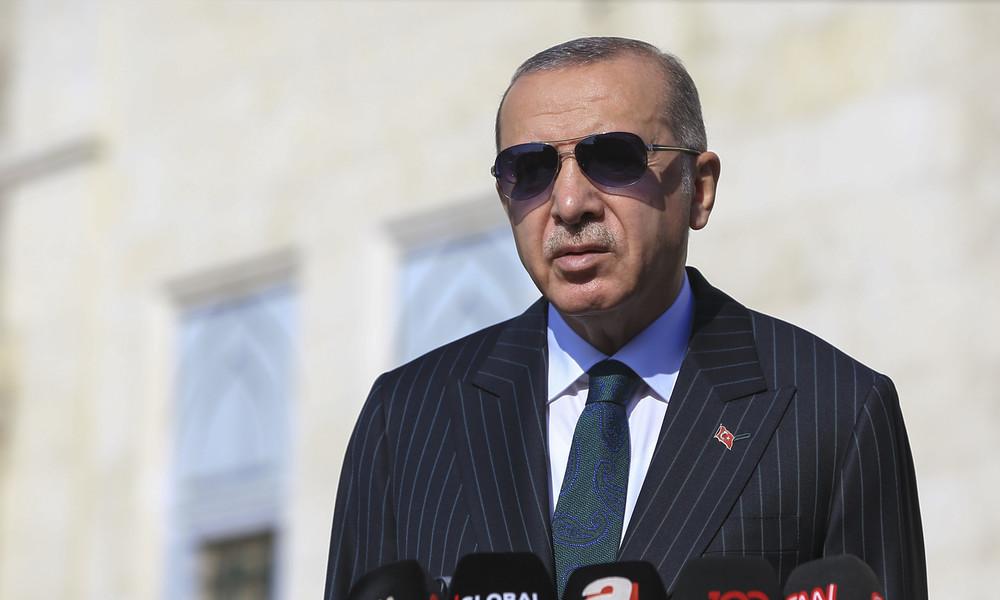 Bundesregierung wirft  Erdoğan Nähe zu Islamisten vor