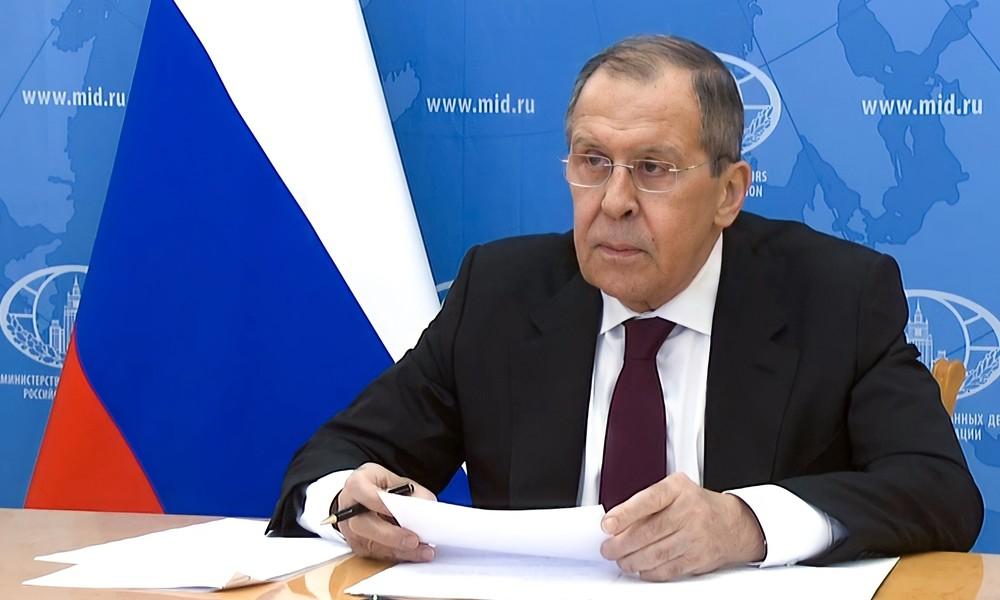 Russischer Außenminister Sergei Lawrow begibt sich in Selbstisolation