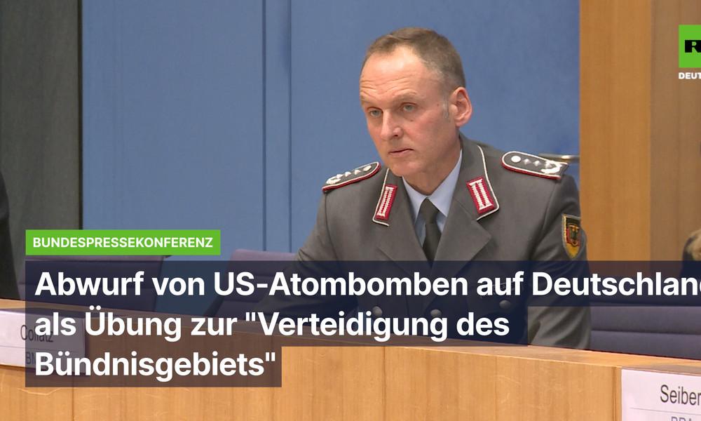"""Atombombenabwurf auf Deutschland als NATO-Übung zur """"Verteidigung des Bündnisgebietes"""""""