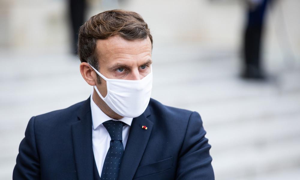 Frankreich Macron verhängt erneuten Lockdown