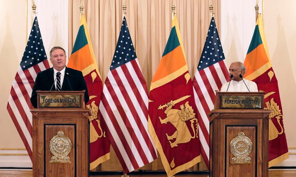 Pompeos Werben um Sri Lanka: Weiteres Beispiel wachsender Besorgnis der USA über China