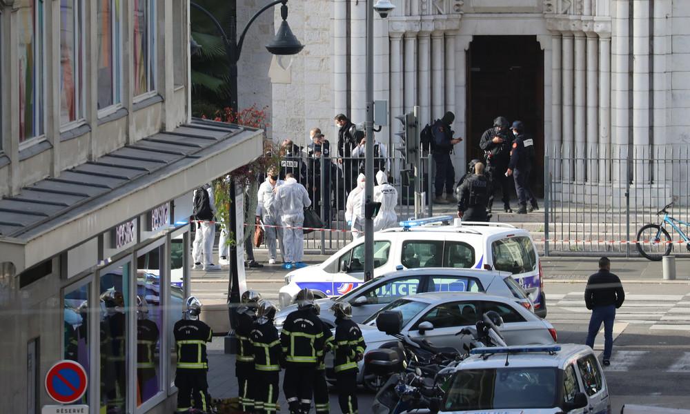 Mutmaßlicher Terroranschlag: Messerangriff in Nizza – mehrere Todesopfer