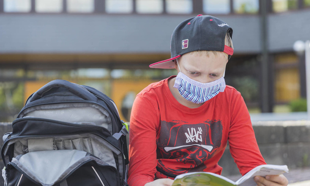 Maskenpflicht im Unterricht: Nebenwirkungen nicht ausgeschlossen