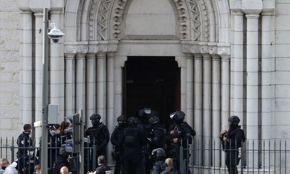 LIVE aus Nizza nach mutmaßlichem Terroranschlag in Kirche mit mindestens drei Toten