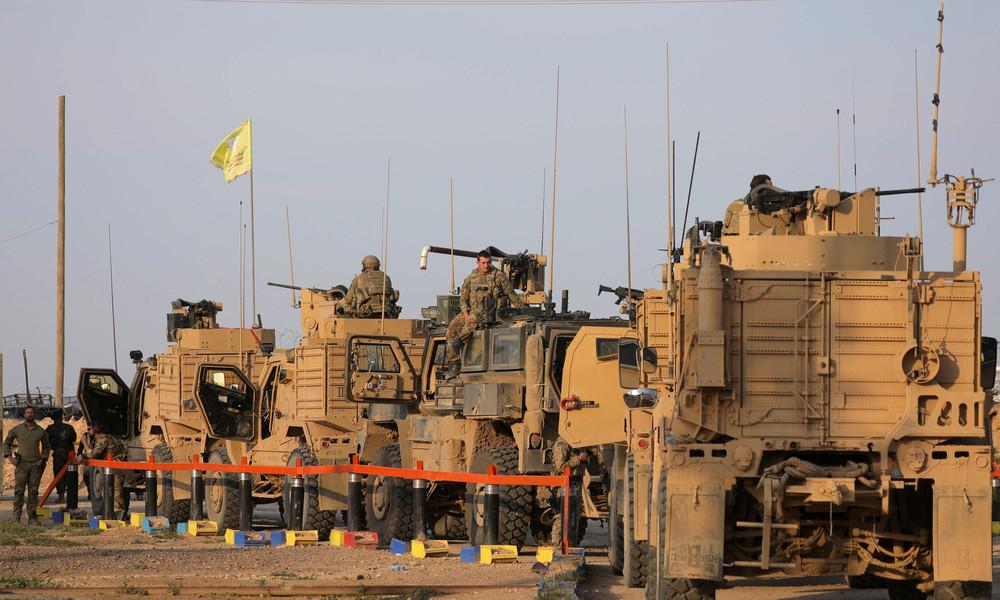 US-Besatzer schmuggeln Rohöl aus Syrien in den Irak