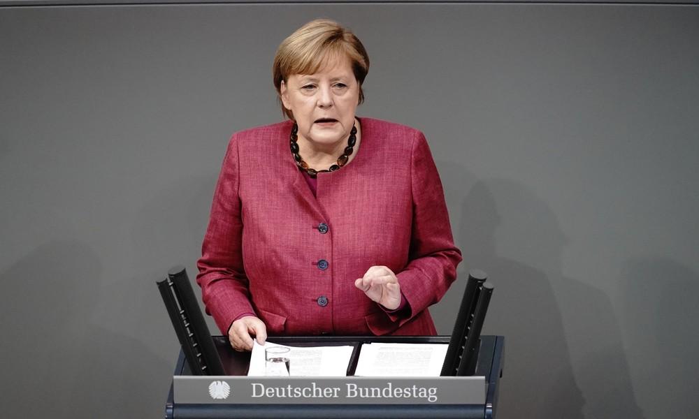 """Merkel in Lockdown-Regierungserklärung: """"Menschenleben hängen davon ab"""""""