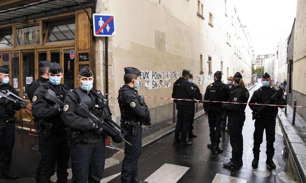 Paris: Versuchte Messerattacke auf Polizisten