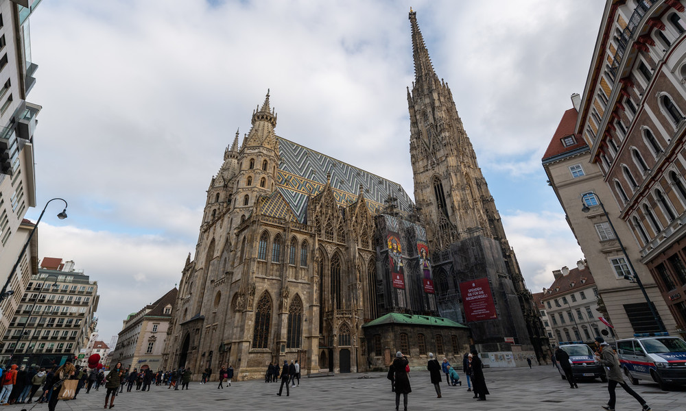 Wien: Afghane skandiert islamistische Parolen im Stephansdom