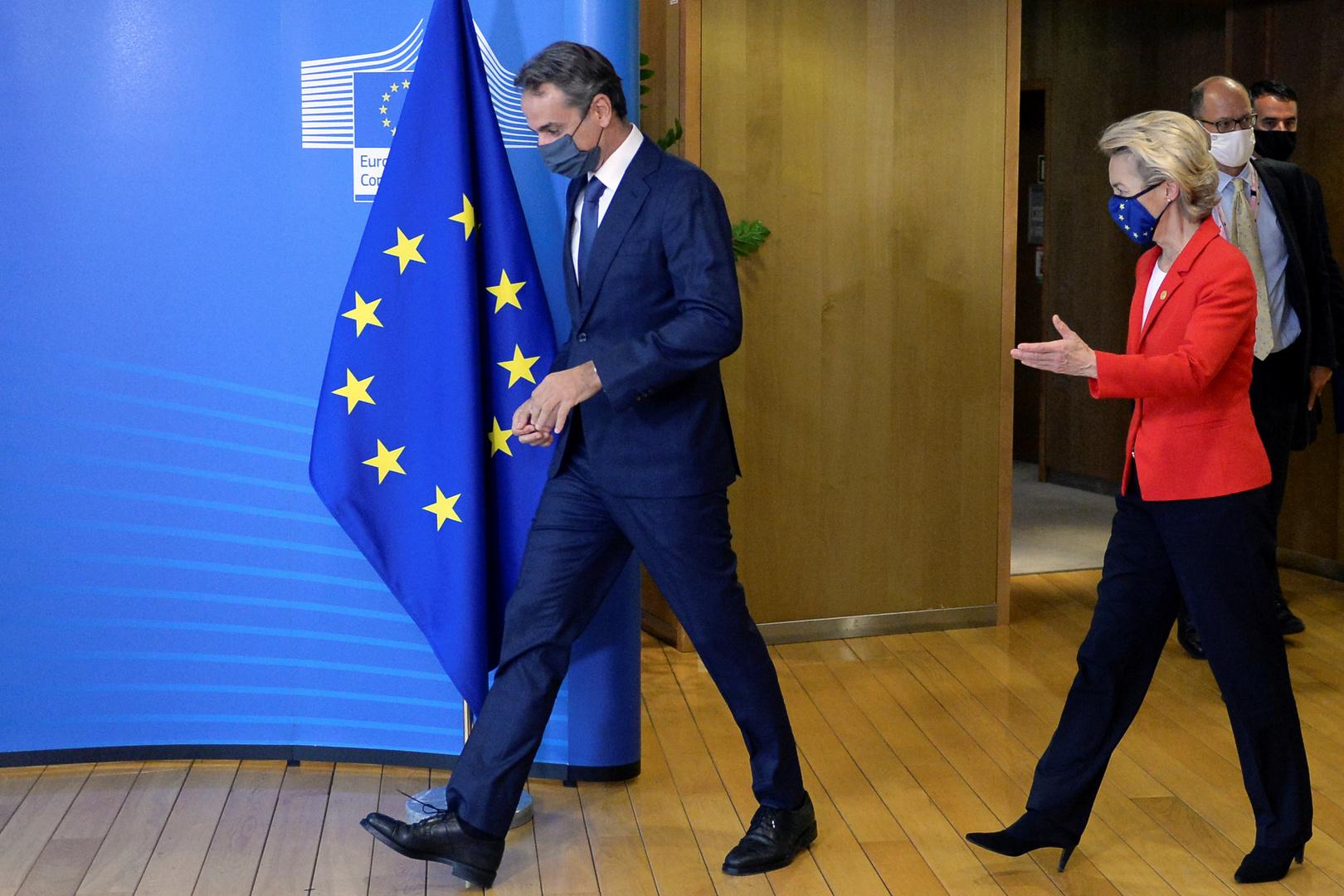 Merkel zeigt sich zufrieden: Zypern gibt Weg frei für Sanktionen gegen Weißrussland