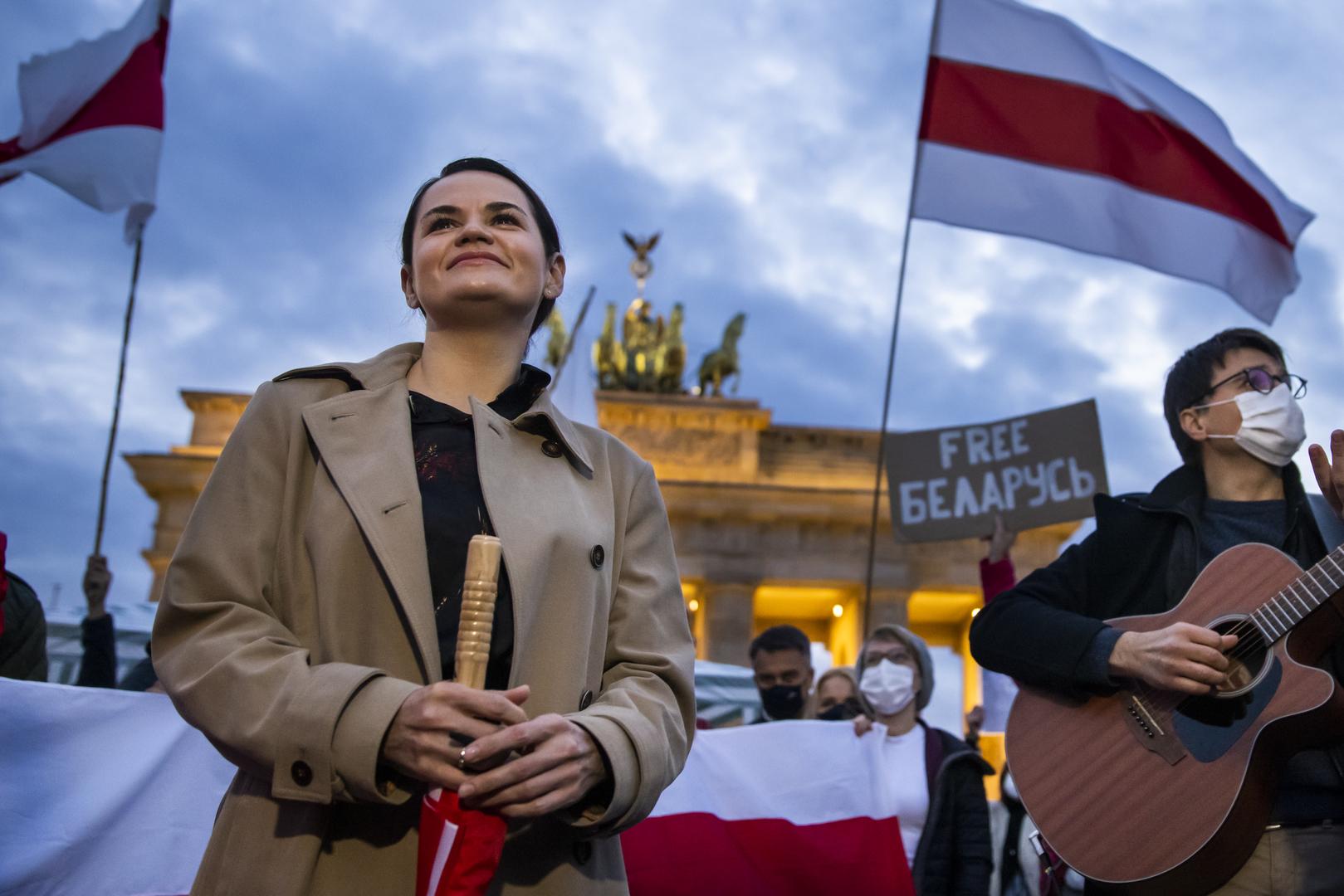 """""""Wir müssen Brandmauer gegen Russland errichten"""": Tichanowskaja-Besuch in Berlin"""