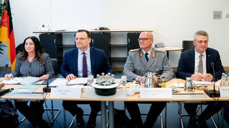 Übernimmt die Bundeswehr jetzt das Gesundheitsministerium?