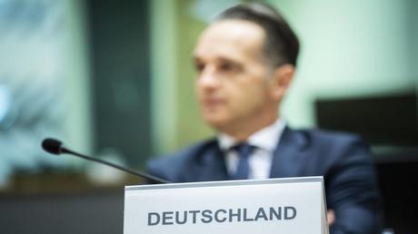 Der deutsche Außenminister Heiko Maas am 21. September 2020 in Brüssel