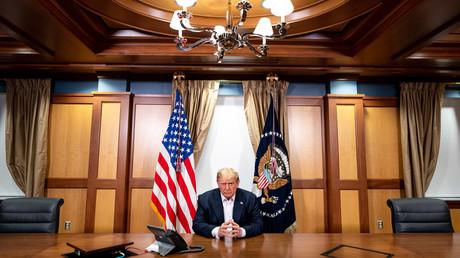 US-Präsident Donald Trump am 4. Oktober.